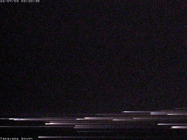 高山特別地域気象観測所ライブカメラ(南側)